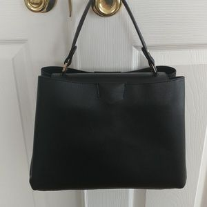 Handbags - Black crossbody & matching pouch